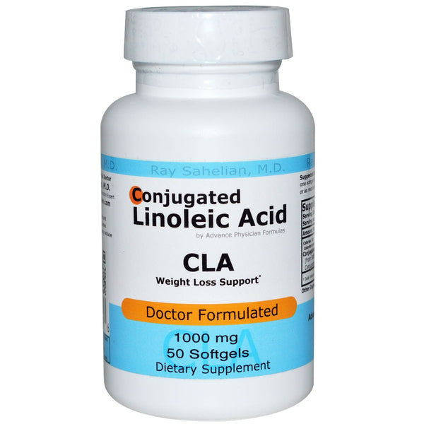 CLA (Conjugated Linoleic Acid), 1000 mg, 50 Softgels