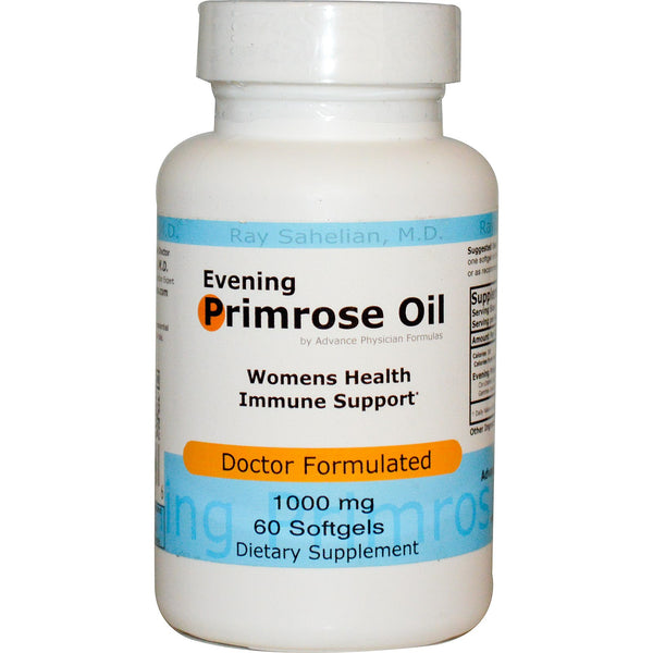 Evening Primrose Oil, 1000 mg, 60 Softgels