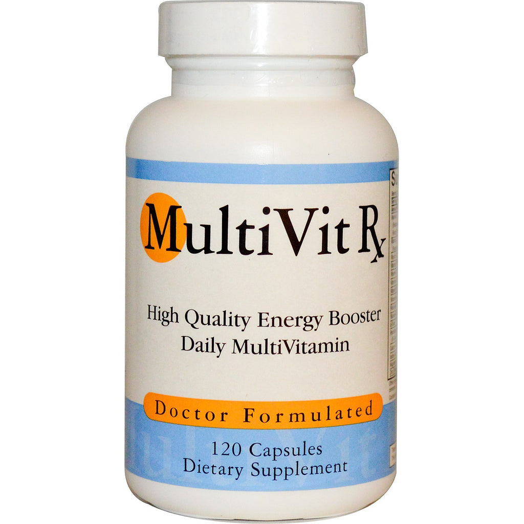 Multi Vit RX, 120 Capsules, Multivitamin Men Women Daily
