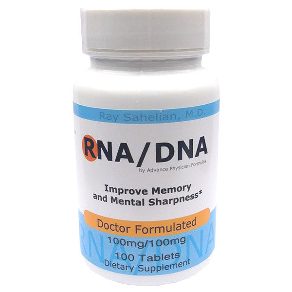 RNA / DNA, 100mg/100mg, 100 Tablets, Supplement