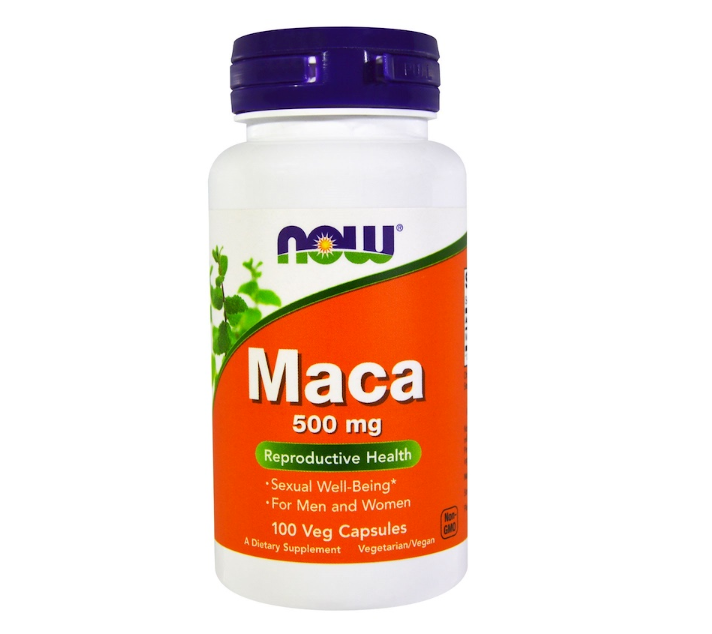 MACA, 500 mg, 100 Vegetable Capsules
