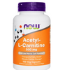Acetyl-L-Carnitine, 500 mg, 100 Capsules, Cognitive Function