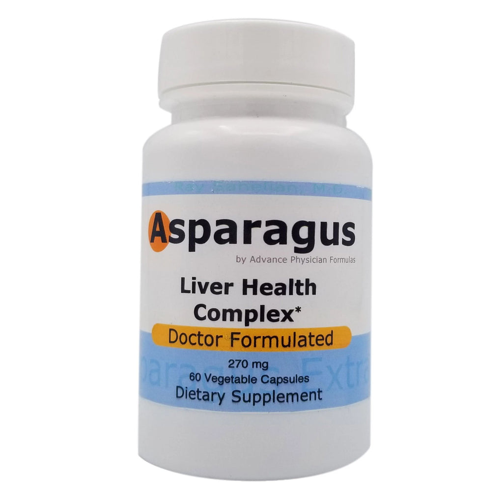Asparagus by Advanced Physician Formulas Liver Health Complex Doctor Formulated 270mg 60 Vegetable Capsules Dietary Supplement