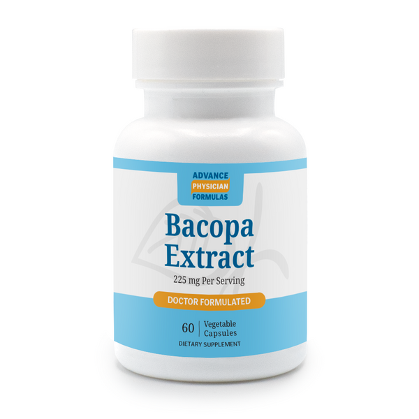 Advance Physician Formulas Bacopa Extract Doctor Formulated 60 Vegetable Capsules