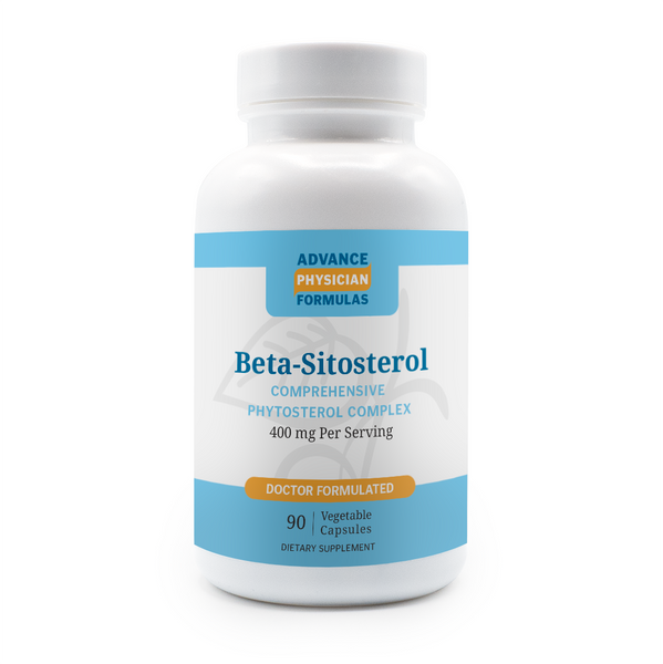 Beta Sitosterol, 400 mg, 90 Vegetable Capsules