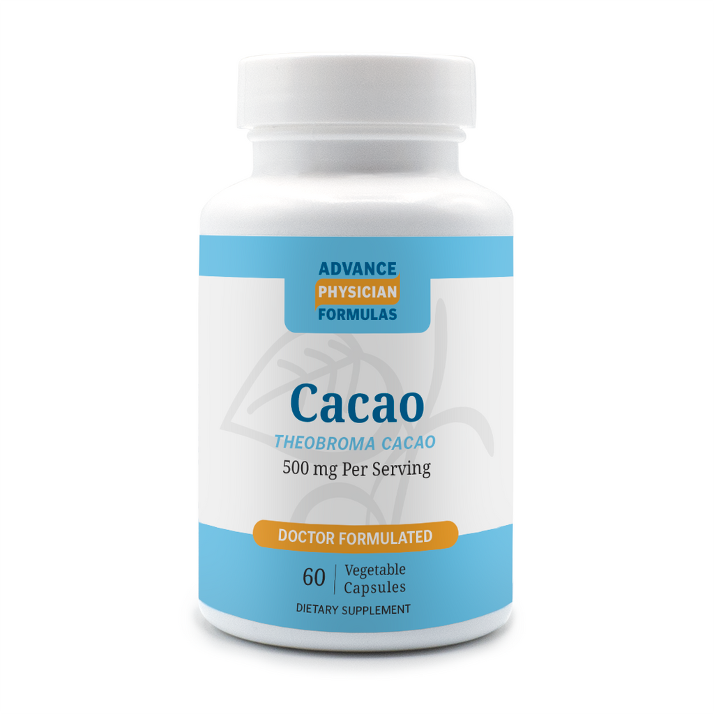 Cacao Powder, 500 mg, 60 Vegetable Capsules