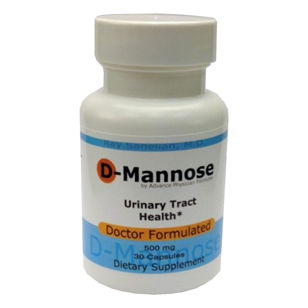 D-Mannose supplement 500 mg, 30 count