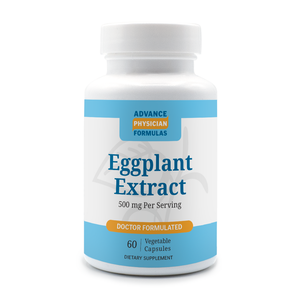 Eggplant Extract, 500 mg, 60 Vegetable Capsules