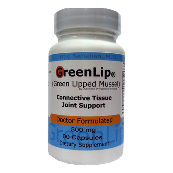 Green Lipped Mussel marine lipid 500 mg, 60 capsules
