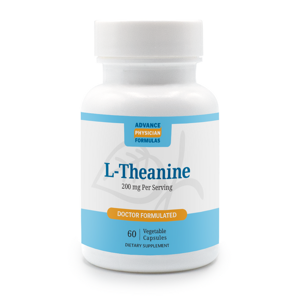 L-Theanine, 200 mg, 60 Vegetable Capsules
