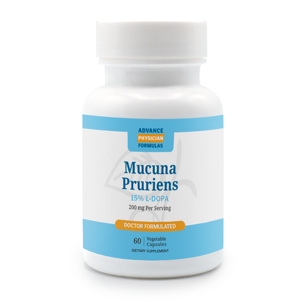 Mucuna Pruriens Extract, 15% L-Dopa, 200 mg, 60 Vegetable Capsules