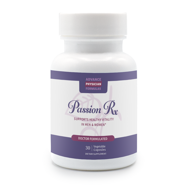 Passion Rx: Male & Female Enhancer, 30 Vegetable Capsules