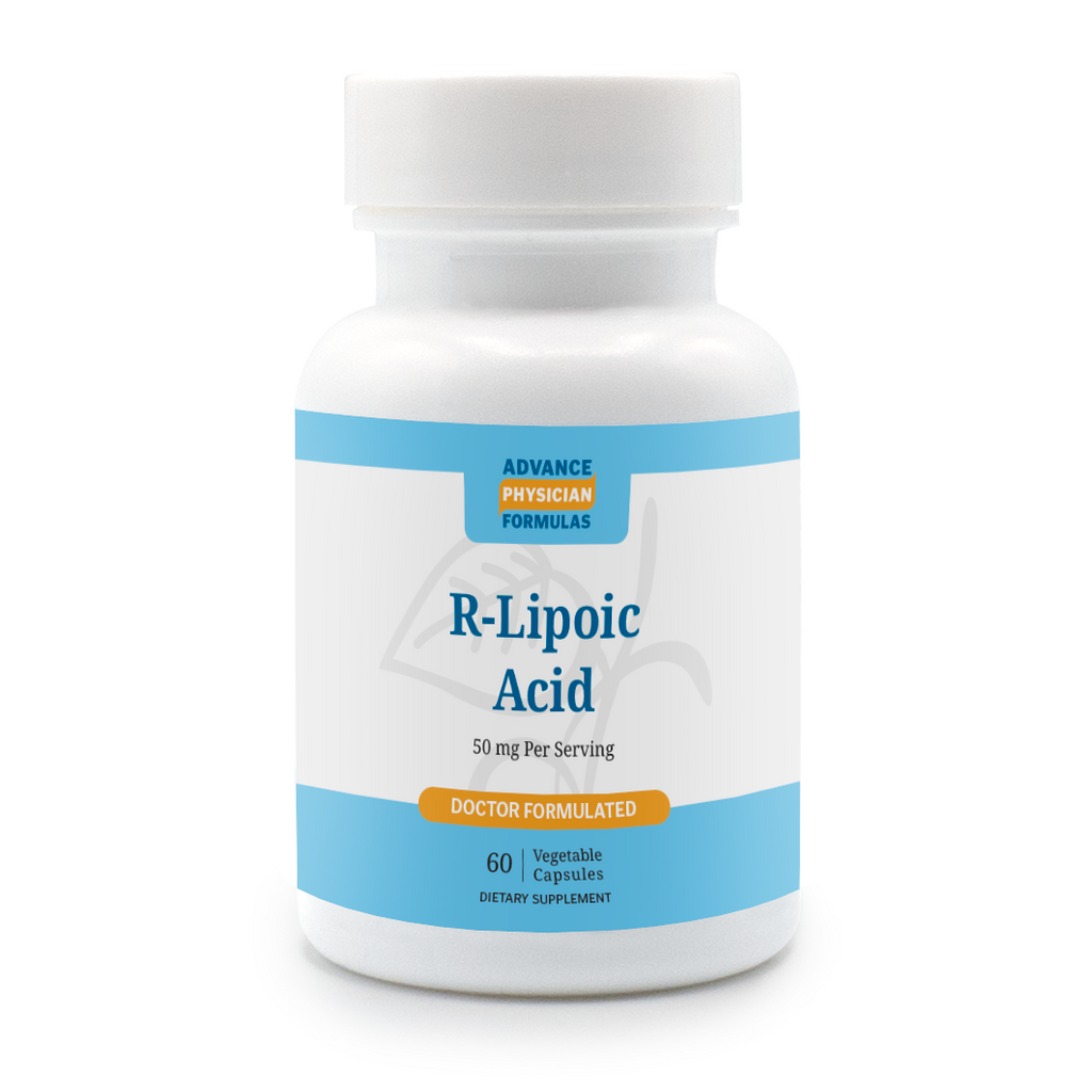 R-Lipoic Acid, 50 mg, 60 Vegetable Capsules