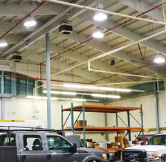 High Bay LED Lamp Retrofit: Case Study Demonstrates Benefits