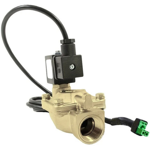 "Atlantic UV Solenoid: 3/4"" 12v or 110/220v / 2-230psi / Brass / Lead Free / NSF for Digital Monitor"