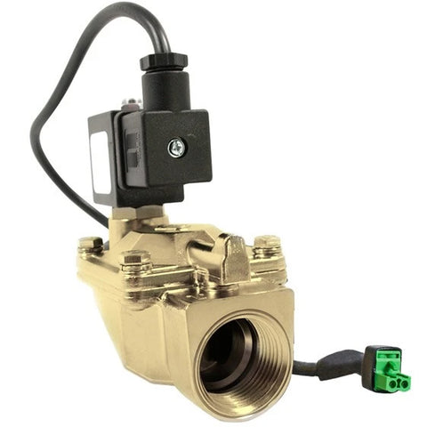 "Atlantic UV Solenoid: 1"" 12v or 110/220v / 2-230psi / Brass / Lead Free / NSF for Digital Monitor"