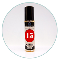 "Mens Organic Cologne/Aromatherapy Roll-on ""15"""