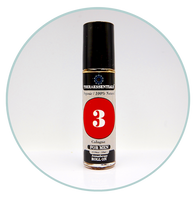 Mens Cologne - 3 -Organic Aromatherapy Roll-On