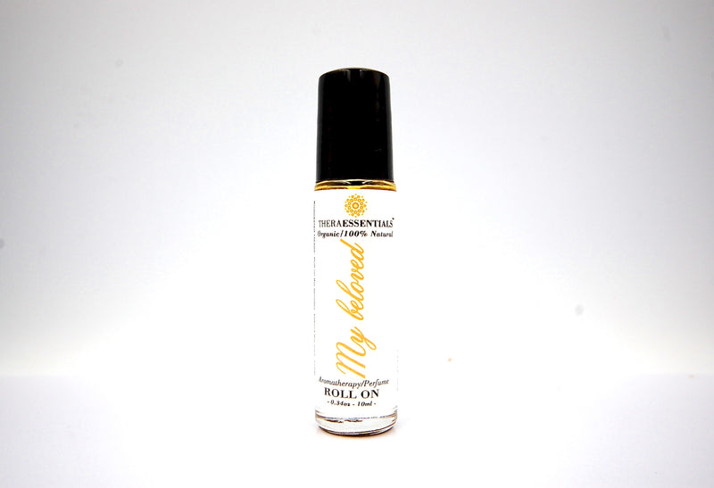Womens Perfume -My Beloved -Organic Aromatherapy Roll-On