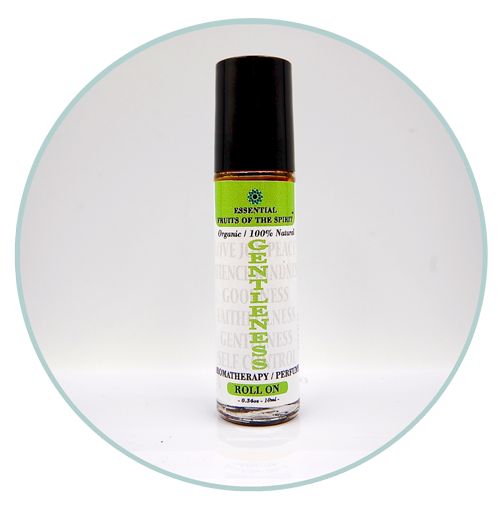 Fruits of the Spirit-GENTLENESS-Organic Aromatherapy Roll-On