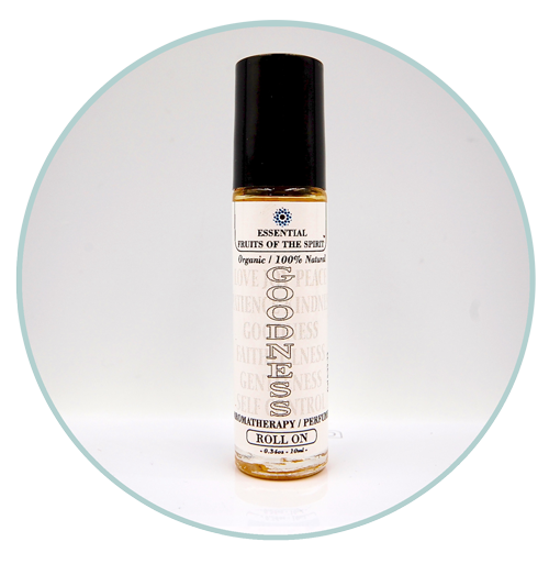 Fruits of the Spirit-GOODNESS-Organic Aromatherapy Roll-On