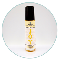 "Organic Aromatherapy Roll-on--JOY ""Fruits of the Spirit"""
