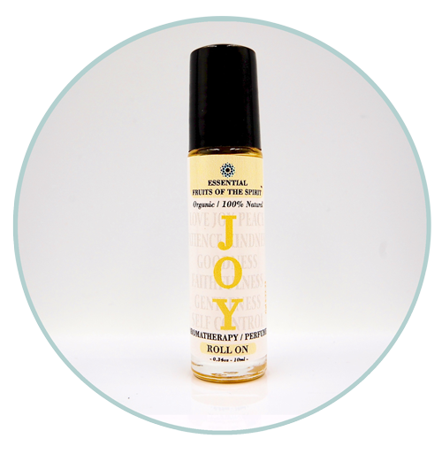 Organic Aromatherapy Roll-on--JOY