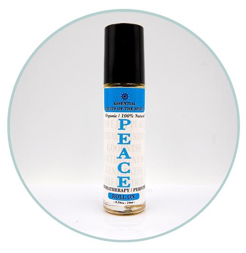 Fruits of the Spirit-PEACE-Organic Aromatherapy Roll-On