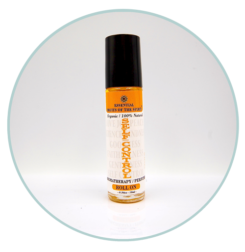 Fruits of the Spirit--SELF-CONTROL-Organic Aromatherapy Roll-On