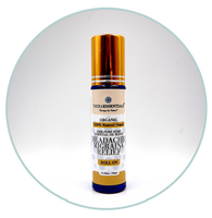 Headache Relief-Roll-On Organic Hemp Essential Oil Blend