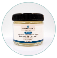 Organic Face and Body Recovery  Cream- 2 oz. Jar