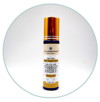 Roll-On Organic Hemp essential oil blend - Stress Relief