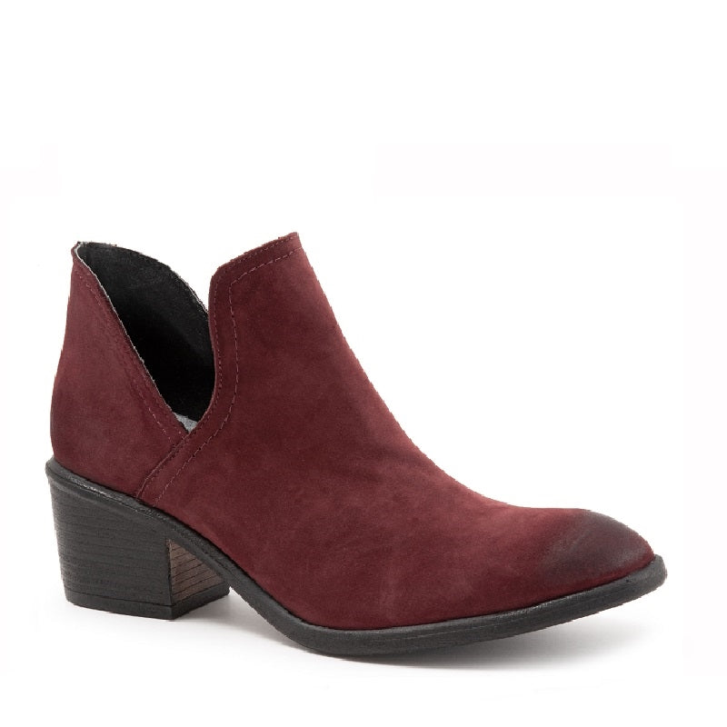 DARK RED NUBUCK