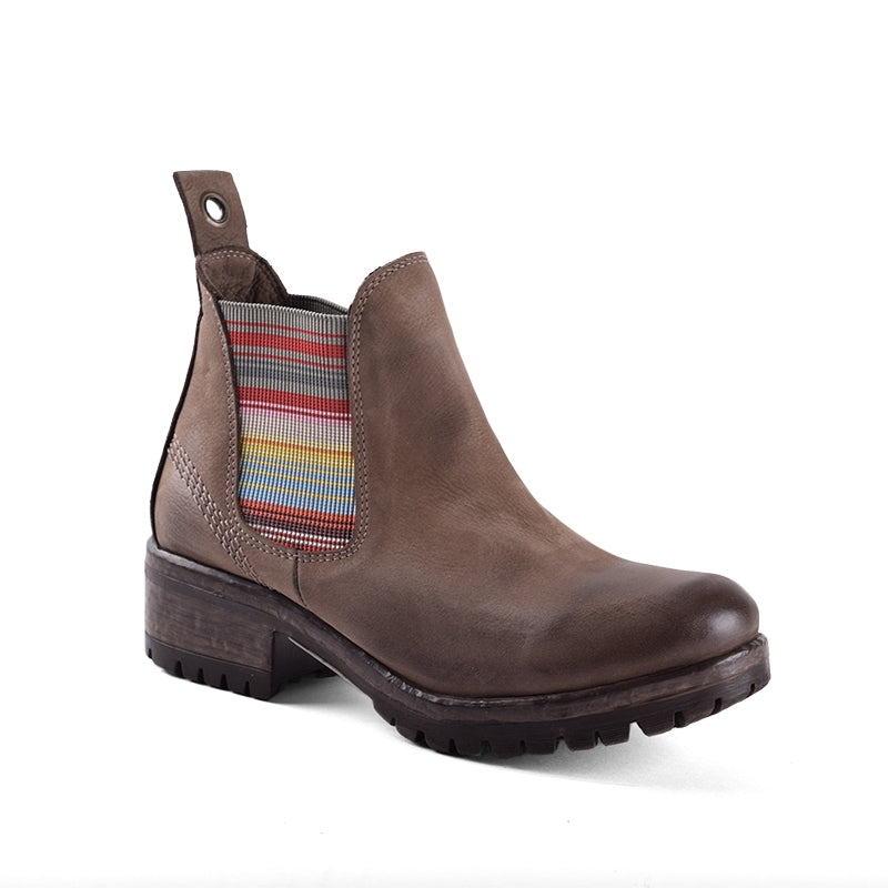 Florida Striped Chelsea Boot