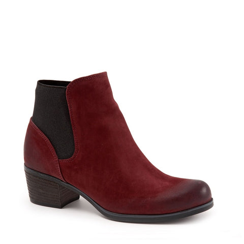 DARK RED NUBUCK/BLACK