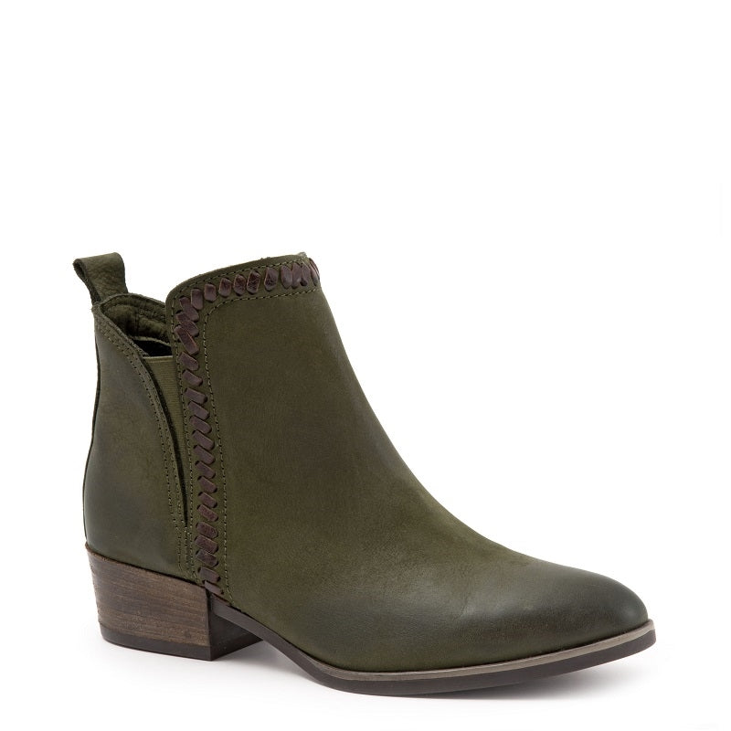 ARMY GREEN NUBUCK