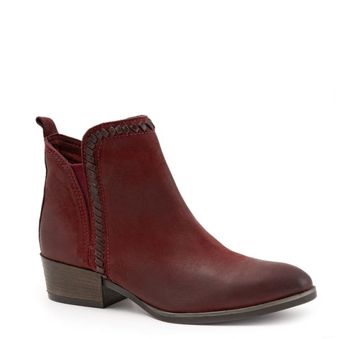 DARK RED TULIP NUBUCK