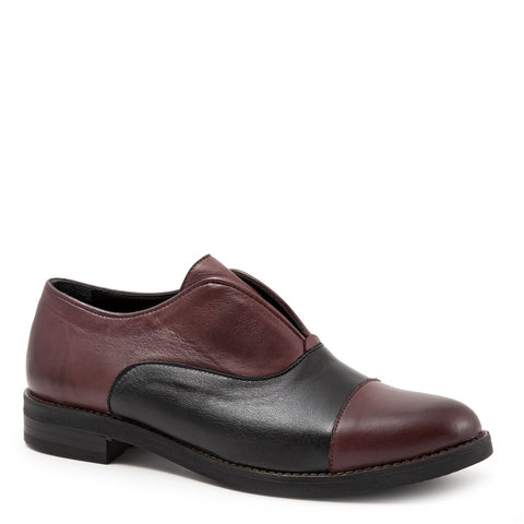 MERLOT (VINEGAR) LEATHER-BLACK W/VINEGAR