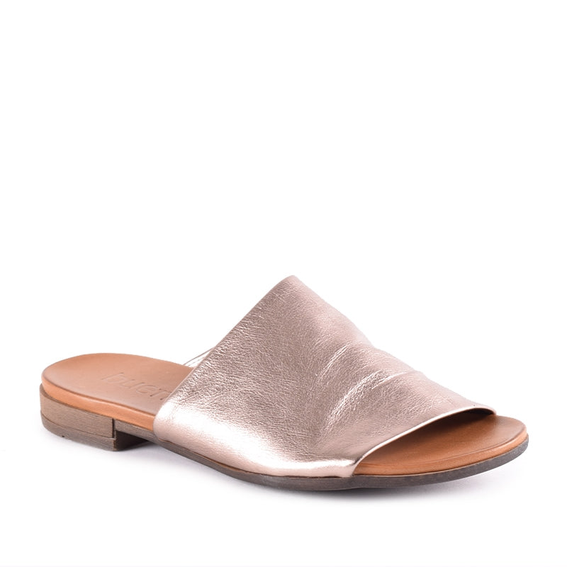 Turner Metallic Slide Sandal