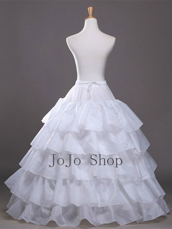 4 Hoops Ball Gown Petticoat for Wedding Dress P1003