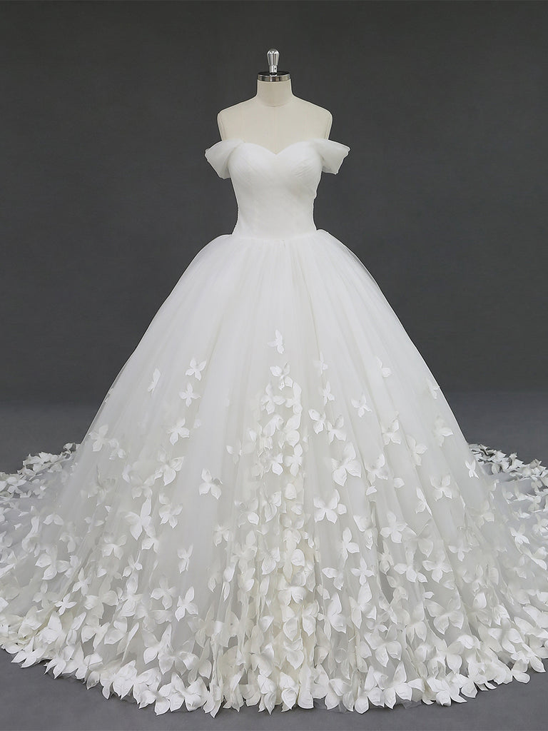 Butterfly Ball Gown Wedding Dress RD2002