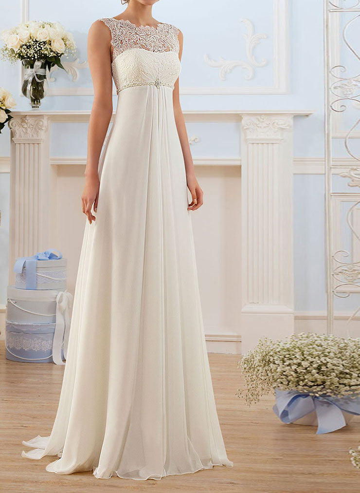 Empire Waist Wedding Dress – JoJo Shop