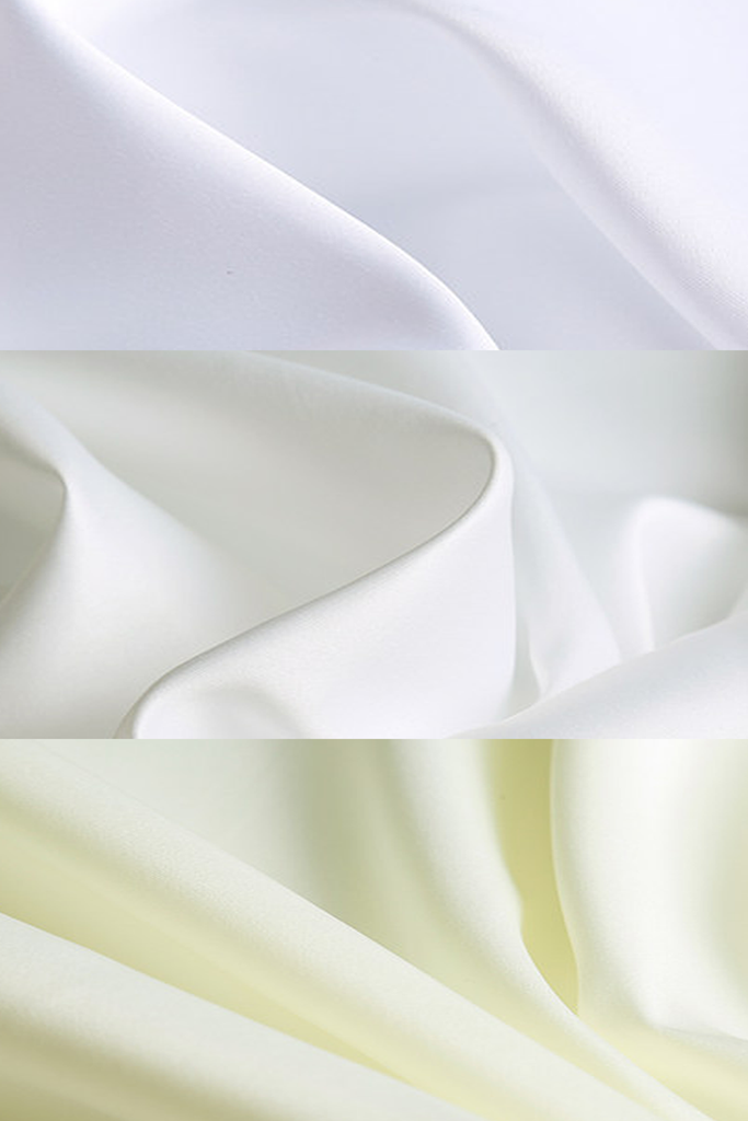 ivory satin dark ivory satin white satin