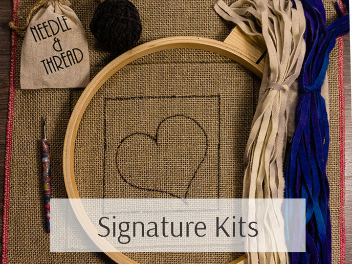 Signature Rug Hooking Kits