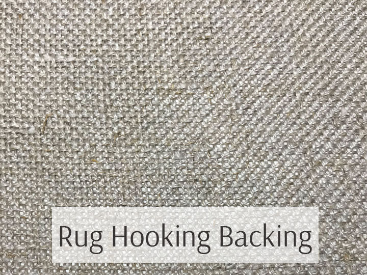 Rug Hooking Backing/Foundation Cloth