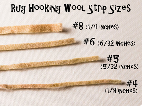Rug Hooking What Size Of Wool Loopy Wool Supply