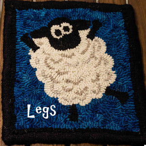 Loopy Sheep Rug Hooking Kit