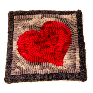 Heart Rug Hooking Kit