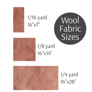 Rug Hooking Wool Fabric Light Pink Swatch Loopy Wool Supply