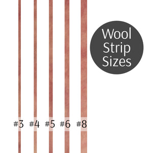Rug Hooking Wool Strips Light Pink Loopy Wool Supply